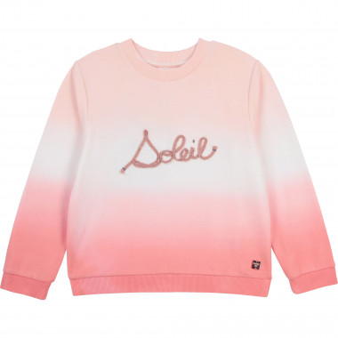 Organic fleece sweatshirt CARREMENT BEAU for GIRL