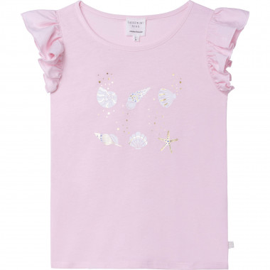 SHORT SLEEVES TEE-SHIRT CARREMENT BEAU for GIRL