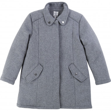Wool cloth coat CARREMENT BEAU for GIRL