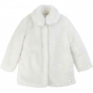 Faux fur coat CARREMENT BEAU for GIRL