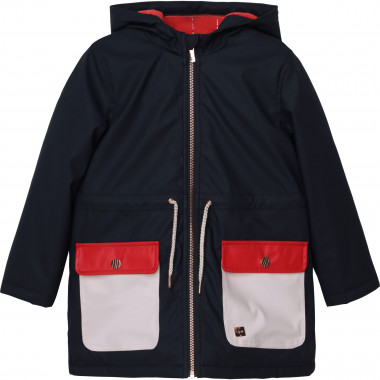 Hooded waterproof raincoat CARREMENT BEAU for GIRL