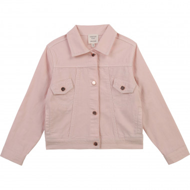 Drill jacket with press studs CARREMENT BEAU for GIRL
