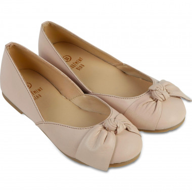 Ballet flats with novelty bow CARREMENT BEAU for GIRL