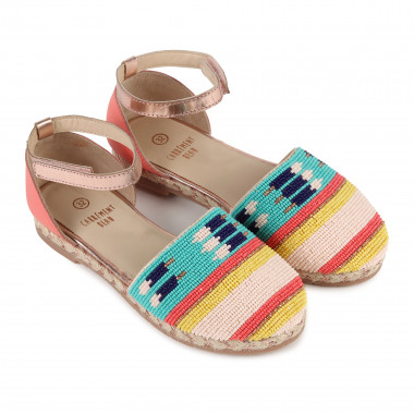 Espadrille-style sandals  for