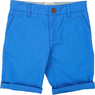Plain chino Bermuda shorts  for