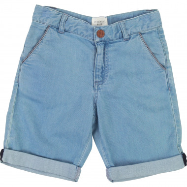 Jean Bermuda shorts with trim CARREMENT BEAU for BOY