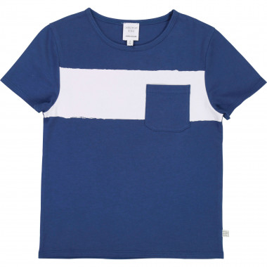 Short-sleeved cotton T-shirt CARREMENT BEAU for BOY