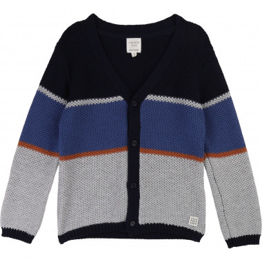 V-neck cotton wool cardigan CARREMENT BEAU for BOY