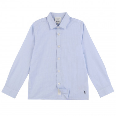 Cotton poplin shirt CARREMENT BEAU for BOY