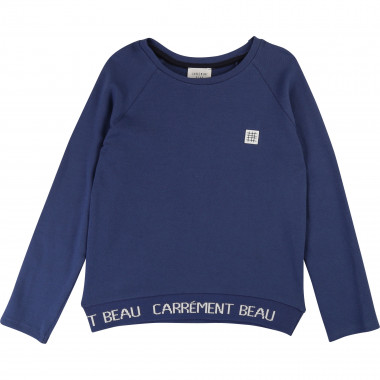 Novelty knit T-shirt CARREMENT BEAU for BOY