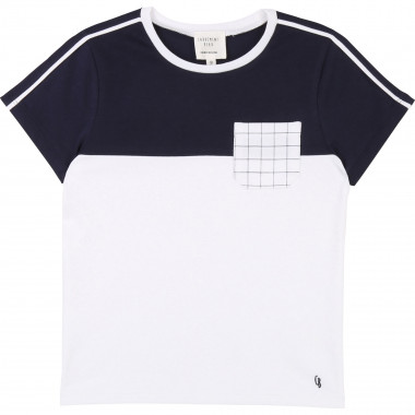 Dual-material T-shirt CARREMENT BEAU for BOY