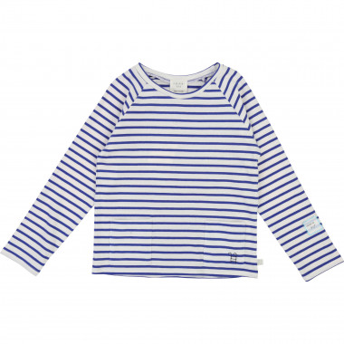 Long-sleeved Breton shirt CARREMENT BEAU for BOY
