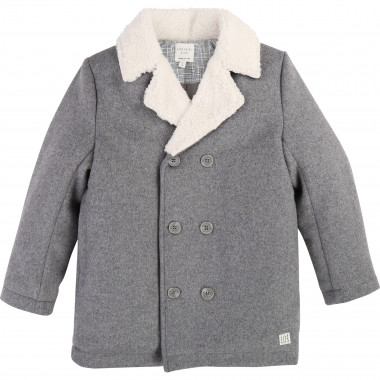 Wool cloth coat CARREMENT BEAU for BOY