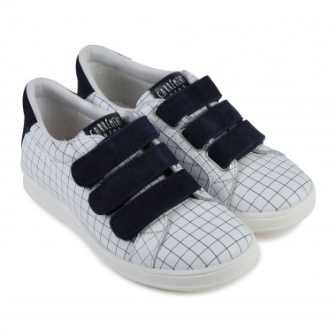 Velcro leather trainers CARREMENT BEAU for BOY