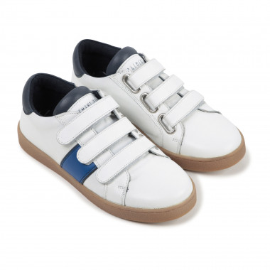 Leather Velcro trainers CARREMENT BEAU for BOY