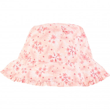 Floral-patterned hat CARREMENT BEAU for GIRL