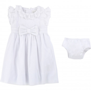 Formal dress and bloomers CARREMENT BEAU for GIRL