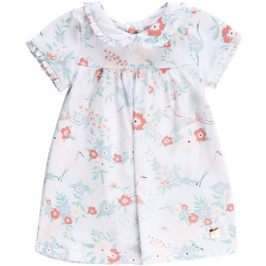 Floral-patterned dress CARREMENT BEAU for GIRL