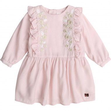 Embroidered party dress CARREMENT BEAU for GIRL