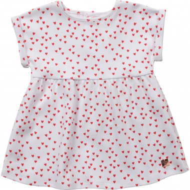 Organic cotton dress CARREMENT BEAU for GIRL