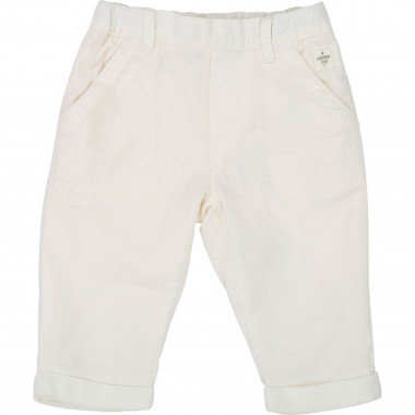 Lightweight cotton trousers CARREMENT BEAU for BOY
