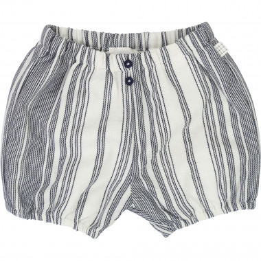 Striped cotton bloomers CARREMENT BEAU for BOY