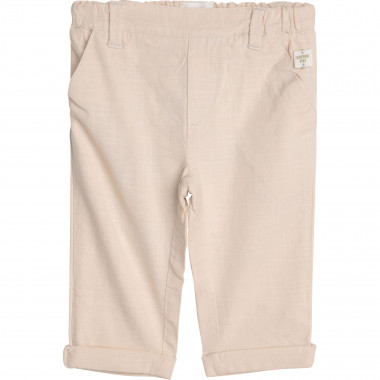 Woven cotton trousers CARREMENT BEAU for BOY