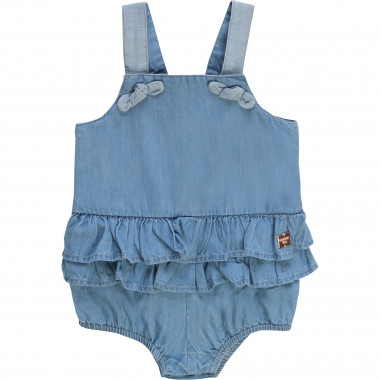 Denim playsuit CARREMENT BEAU for GIRL