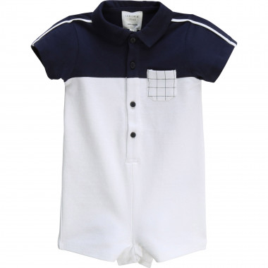 Checked playsuit CARREMENT BEAU for BOY