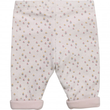 Reversible cotton leggings CARREMENT BEAU for GIRL