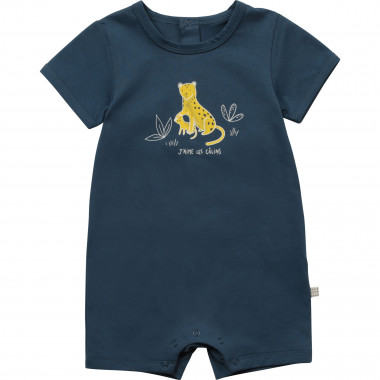 Romper with illustration CARREMENT BEAU for BOY