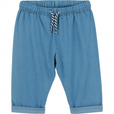 Jeans with elasticated waist CARREMENT BEAU for BOY