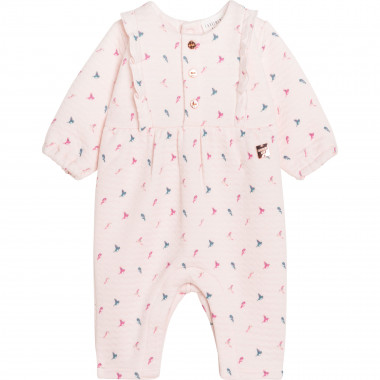 Tube knit coverall CARREMENT BEAU for GIRL