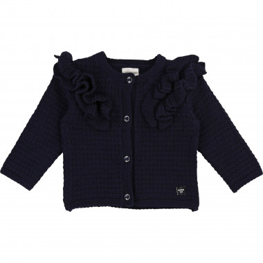 Novelty knit cardigan CARREMENT BEAU for GIRL