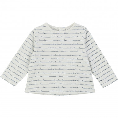 Velvet cotton jersey T-shirt CARREMENT BEAU for BOY