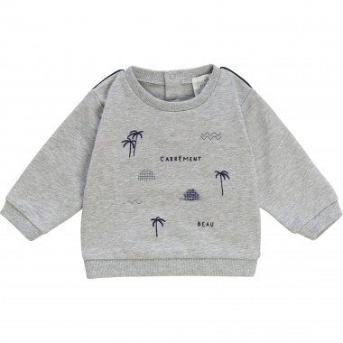 Fleece sweatshirt CARREMENT BEAU for BOY