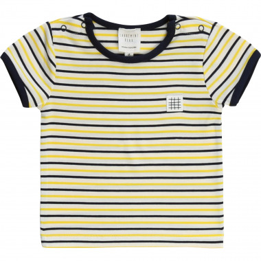 Striped cotton jersey T-shirt CARREMENT BEAU for BOY