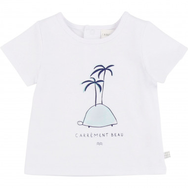 Printed cotton T-shirt CARREMENT BEAU for BOY