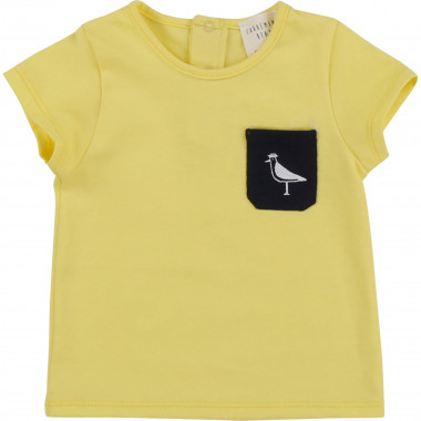 Cotton T-shirt with embroidery CARREMENT BEAU for BOY