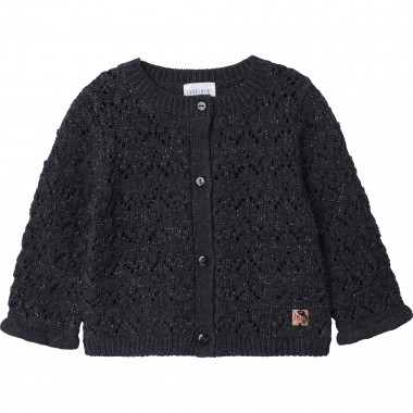 Organic cotton tricot cardigan CARREMENT BEAU for GIRL