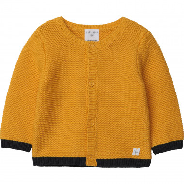Organic cotton tricot cardigan CARREMENT BEAU for BOY