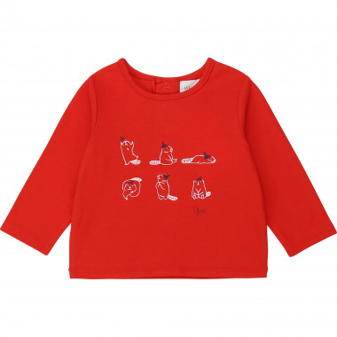Organic cotton T-shirt CARREMENT BEAU for BOY