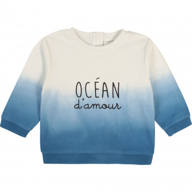 Organic fleece sweatshirt CARREMENT BEAU for BOY