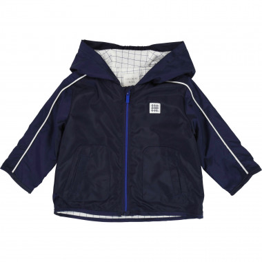 Zipped hooded windbreaker CARREMENT BEAU for BOY