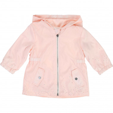 Metallic polka-dot windbreaker CARREMENT BEAU for GIRL