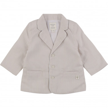 Striped cotton formal jacket CARREMENT BEAU for BOY
