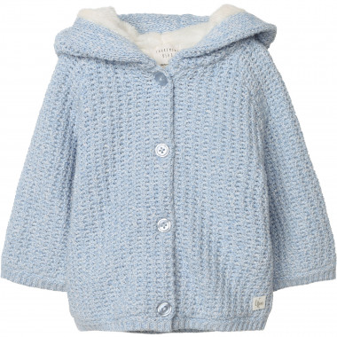 Cotton and wool knitted coat CARREMENT BEAU for BOY