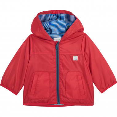 Hooded waterproof jacket CARREMENT BEAU for BOY