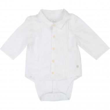 Long-sleeved onesie-shirt CARREMENT BEAU for BOY