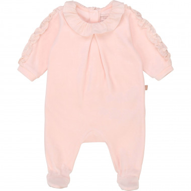 Organic cotton velvet pyjamas CARREMENT BEAU for GIRL